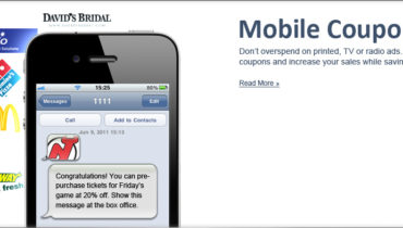 mobile coupons messaging
