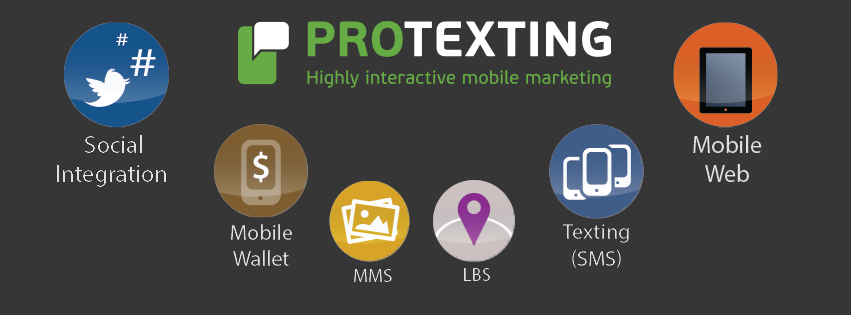 Interactive SMS marketing features by ProTexting