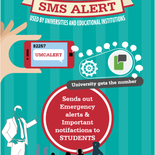 SMS Alerts for universities and educational institutions